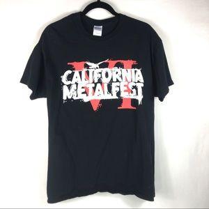 California Metalfest VI T-Shirt Large